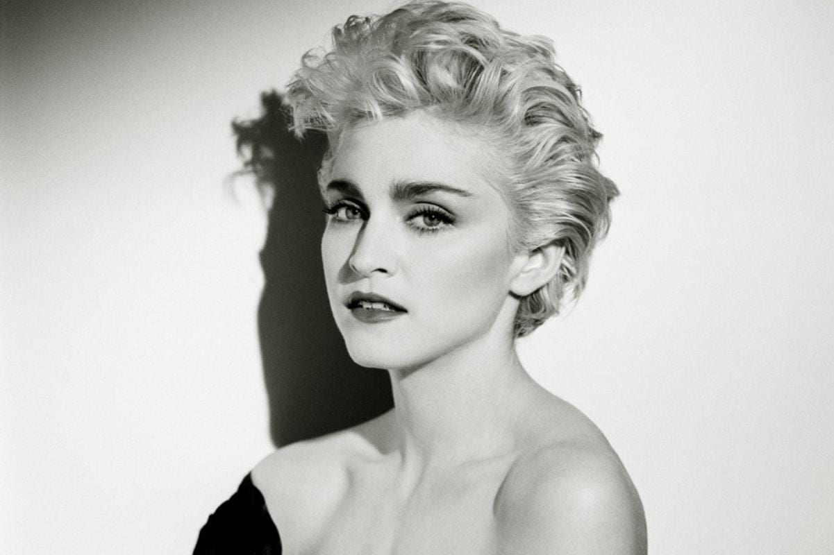 Madonna in her twenties
