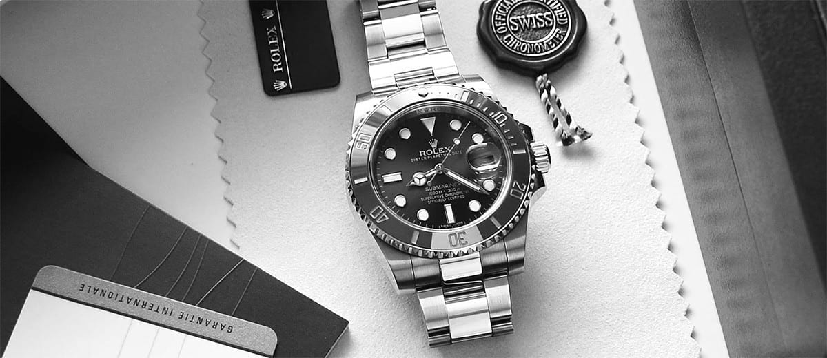 All of Rolex's watches are handmade