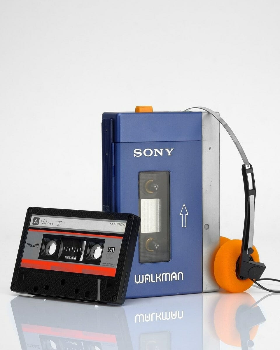 FIRST SONY WALKMAN TPS-L2
